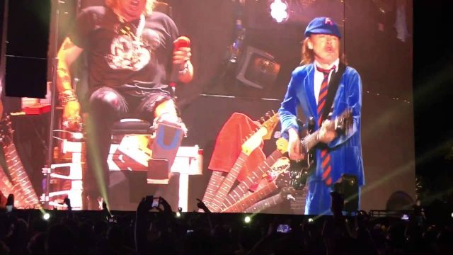 Angus Young Rips Coachella A New A-hole With Guns N Roses