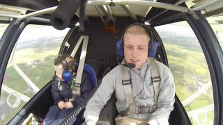 Big Bro Takes Lil Bro For His First Flight In The Sky