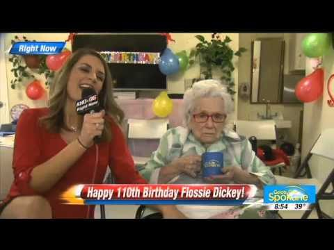 Bloody Awkward Interview With A 110-Year-Old Human