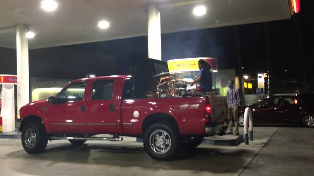 Drummer Gives Prince A Mint Tribute From His Truck