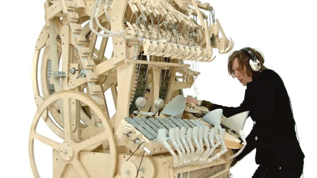 F*ck Yes For This Marble Machine That Makes Music