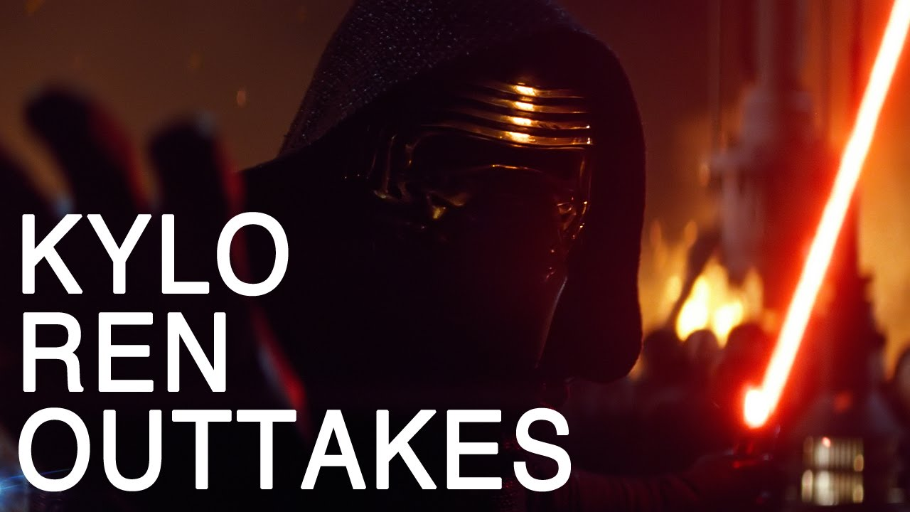 Kylo Ren Outtakes Remix Is Bloody Hilarious