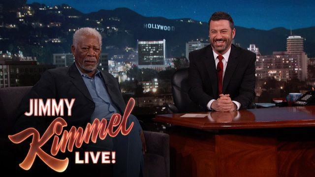 Morgan Freeman Narrates Wankers With Selfie Sticks