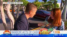 Sheila Turns Down $1,000 Cash, Old Bloke Nabs It
