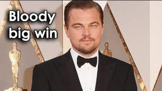 Ozzy Man Reviews: Leo's Oscar Speech