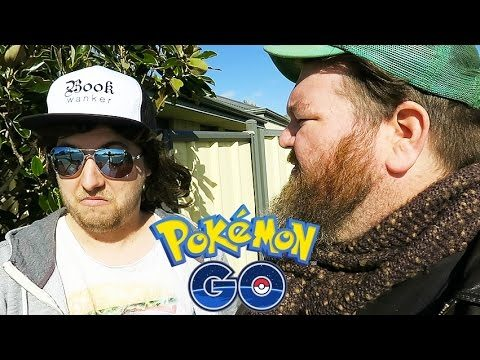 Ozzy Man and Mozza Play Pokemon Go