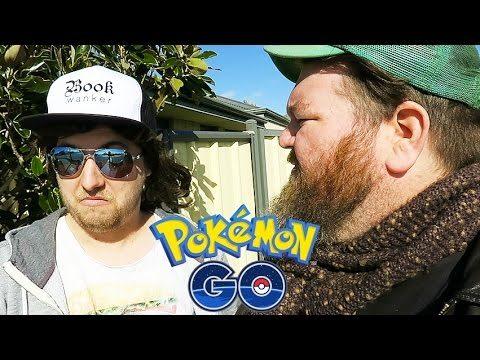 Ozzy Man and Mozza Play Pokemon Go
