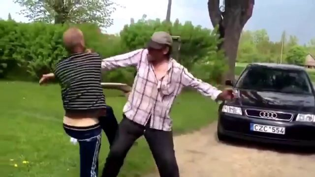 Ozzy Man Reviews: Greatest Drunk Fight Ever