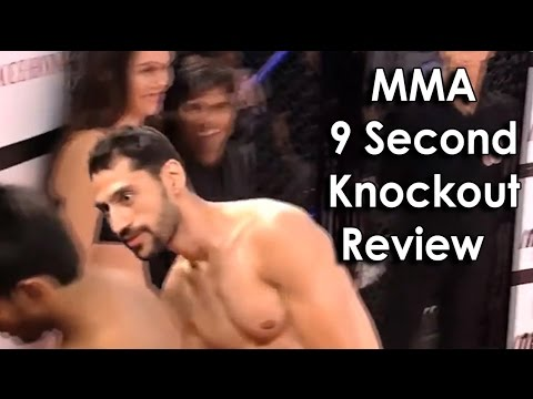 Ozzy Man Reviews: MMA 9 Second Knockout