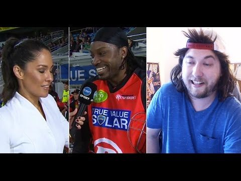Ozzy Man Reviews: Chris Gayle's Flirting Skills