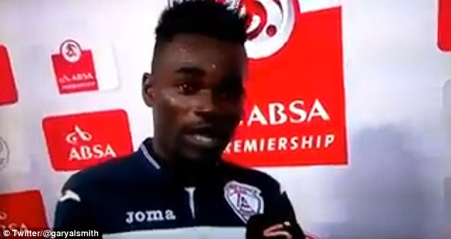 Free State Stars striker Mohammed Anas has become an overnight sensation.