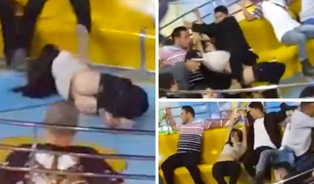 Woman Who Went Commando On Fun Fair Ride Panics As She Loses Her Pants