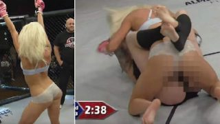 The Lingerie Fighting Championship Is Actually A Goddamn Thing!