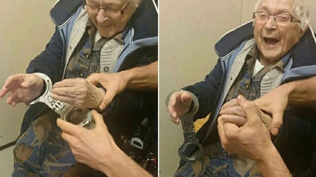 99-Year-Old Grandmother Arrested After Attempting Bucket List Item