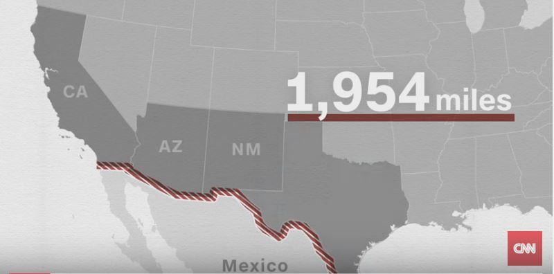 border-wall-map