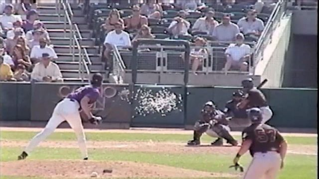 WATCH: 15 Years Ago Today, Baseball Player Randy Johnson Exploded A Bird