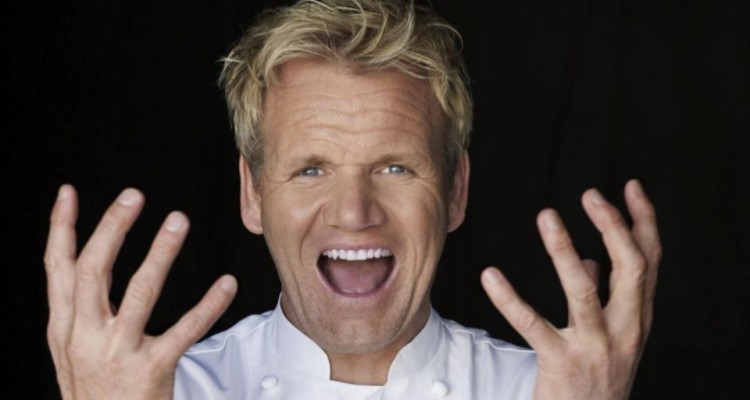 Gordon Ramsay loves a good swear word and he's smart af!