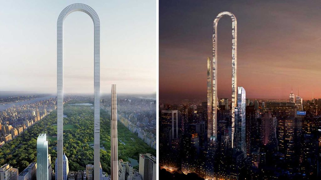 Incredible Details Of A U-Shaped Skyscaper Set For NYC Have Been Unveiled