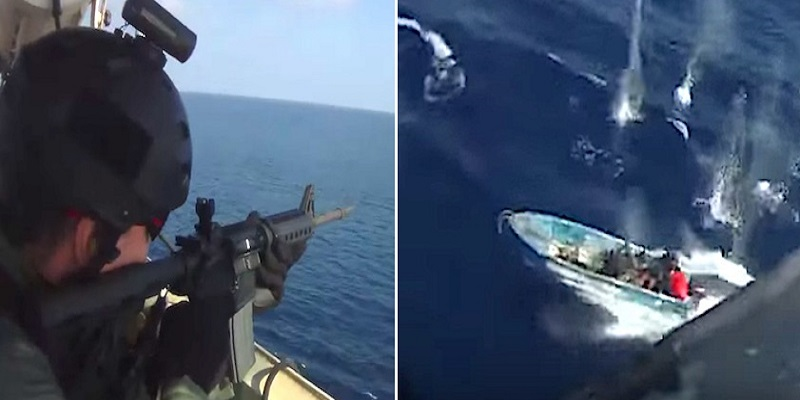 WATCH: Gunfight Between Somali Pirates and Private Security