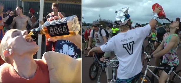 Aussie Version Of Le Tour De France Is F*ckin Hectic
