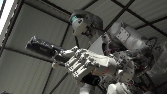 The Russians Have A Space 'Terminator' Robot And We're Probably All Going To Die