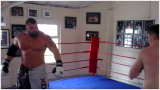 Britain's 410lbs Strongest Man Steps Into The Ring With 140lbs Pro Boxer