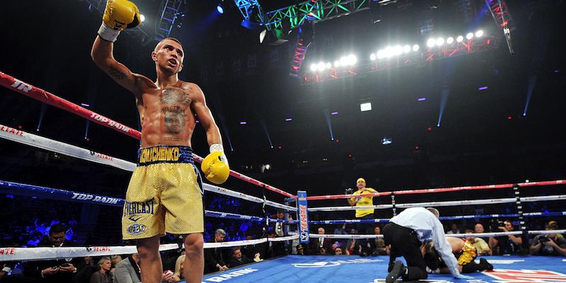 Ukrainian Boxer Moves Like Neo From The Matrix
