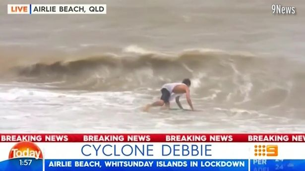 Yeah nah cyclones are the best time to catch a break
