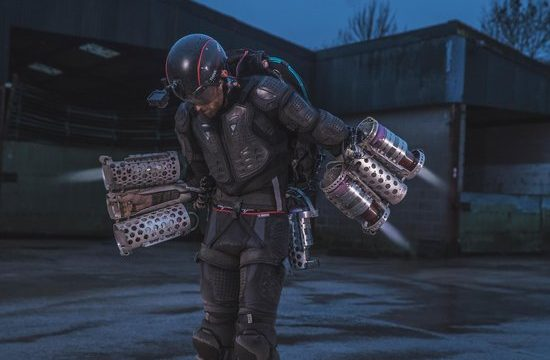 British Inventor Makes Real Life Iron Man Suit