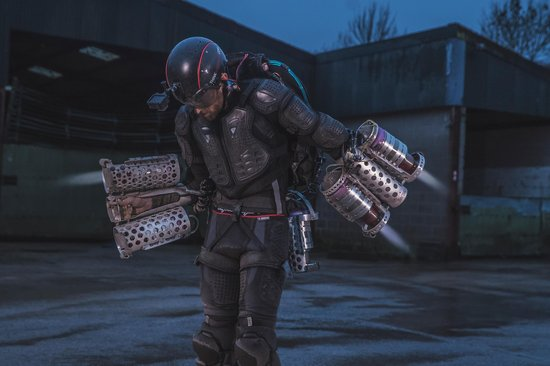 WATCH: British Inventor Makes Real Life Iron Man Suit
