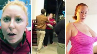 Woman Who Sl*t Shamed Kissing Couple Is Allegedly A Cam Girl