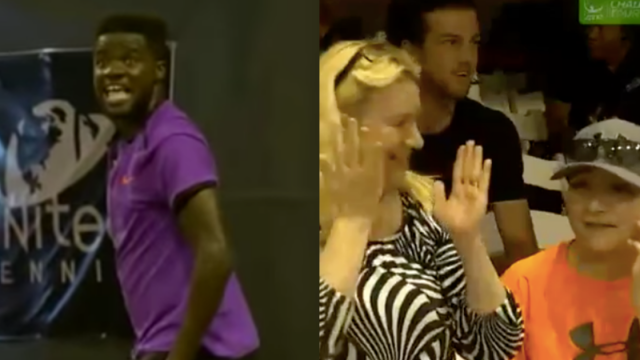 Tennis Match Disrupted By Couple Having Loud Sex