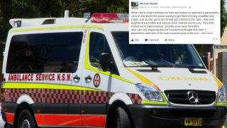 Blokes Brilliant Idea For Paramedics and Emergency Services Goes Viral