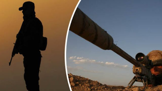 British SAS Sniper Shoots ISIS Fighter In The Throat From 2.4km Away