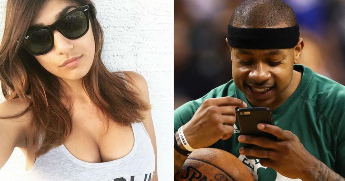 Mia Khalifa Tries To Troll Celtics Player And It Back Fires Spectacularly