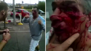 Famous Bare Knuckle Boxer Paddy Doherty In Brutal Family Street Brawl