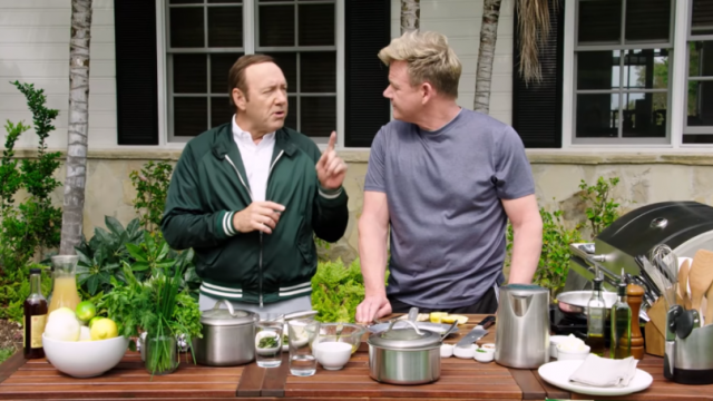 WATCH: Gordon Ramsay and Kevin Spacey Go To War in Epic Swear-Off