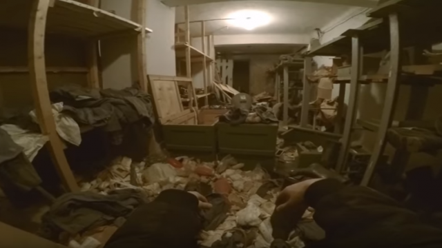 Guy Finds A Secret Underground Safe House In Russian Factory