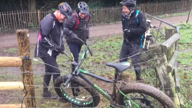 These Men Trying To Untangle A Bike From An Electric Fence Will Make Your Day