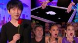 Magician Leaves Everyone Speechless With His Brain Bending Trick On America's Got Talent