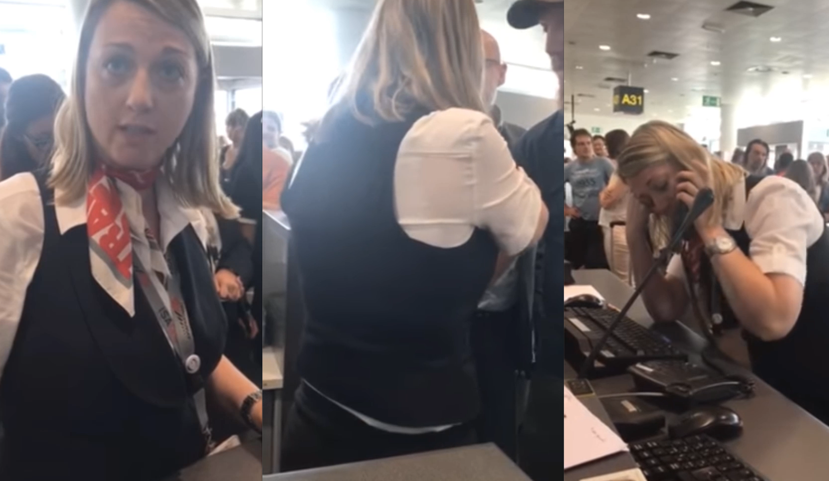 Flight Attendant Brought To Tears By Passenger's Appalling Dummy Spit
