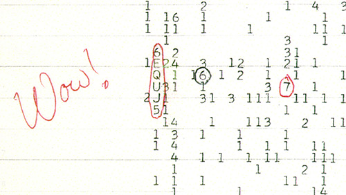 The Wow! Signal, 1977