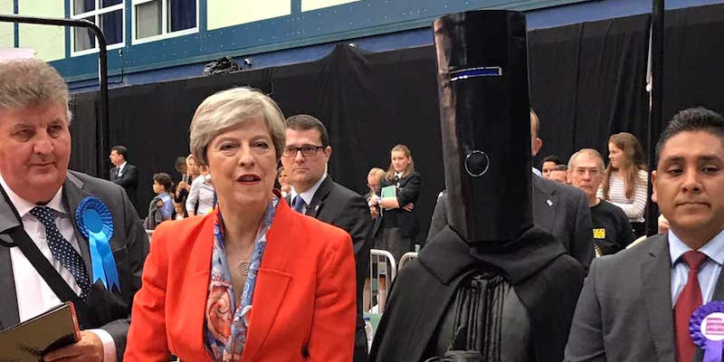 UK Political Candidate 'Lord Buckethead' Shares Story About The National Health Service And It's The Best Thing Ever