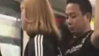 Man On Train Busted Poking His Erect Penis Into A Unsuspecting Woman!