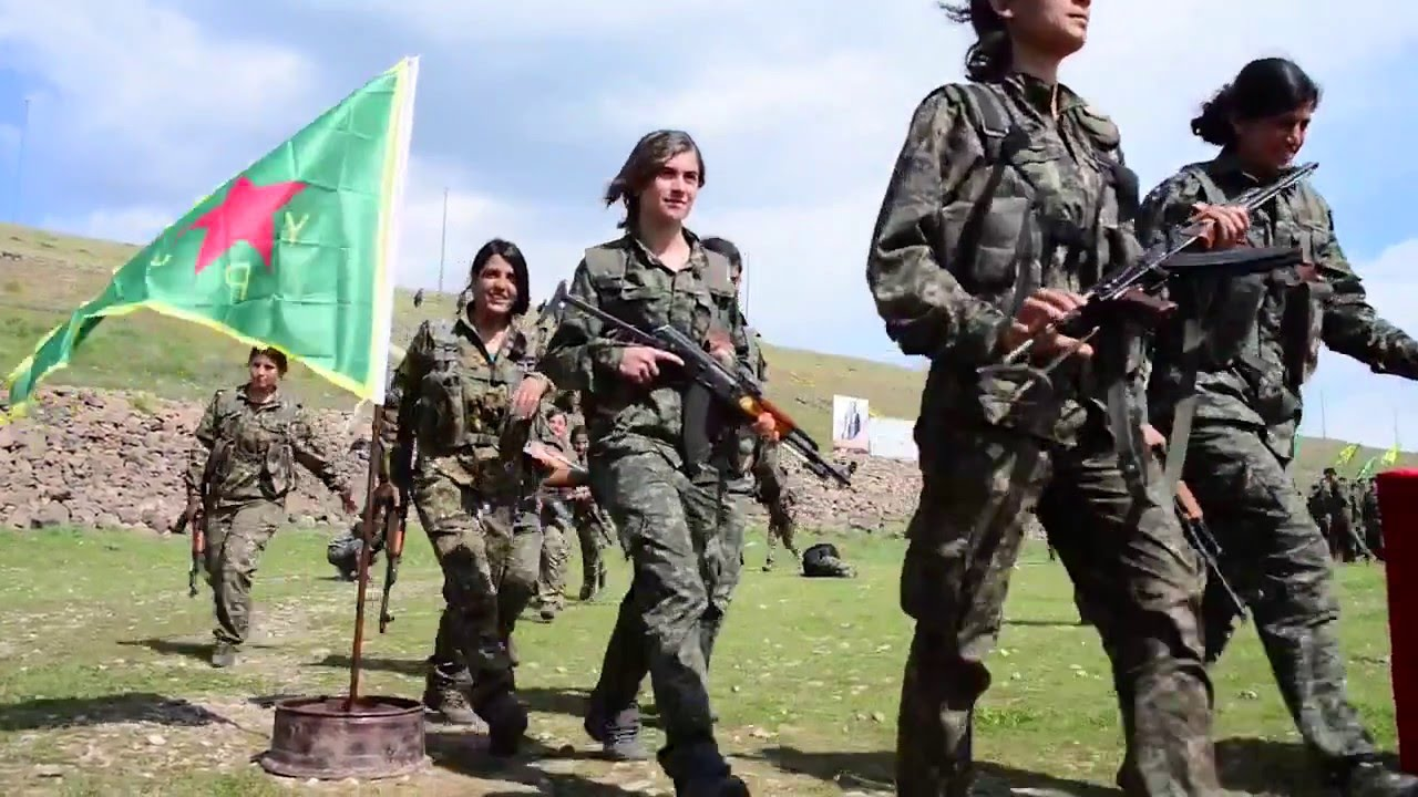 YPJ soldiers