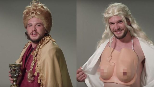 Kit Harington Auditions For 6 Different Game Of Thrones Parts
