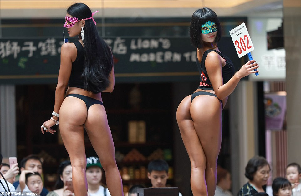 Winner Of 'Most Beautiful Bum In China' Can't Wear Tights In Public
