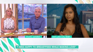 The Mum Who Had Sex While Breastfeeding Gave A Super awkward TV interview