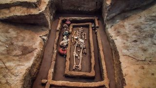 Bizarre Giant Skeletons Were Just Exhumed from Yellow River Valley In China