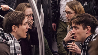 Four Sets Of Identical Twins Pull Off Epic Time Travel Prank On New York Subway